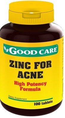 Zinc for Acne Good Care  - 100 comprimidos