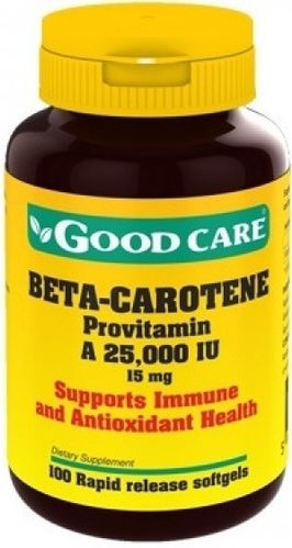 Beta-Carotene Good Care - 100 cápsulas