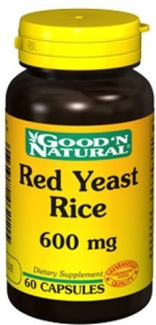 Red Yeast Rice Good'N Natural - 60 cápsulas