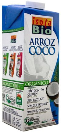 Bebida de Arroz com Coco Isola Bio - 1000 ml