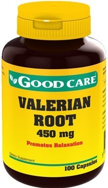 Valerian Root Good Care - 100 cápsulas