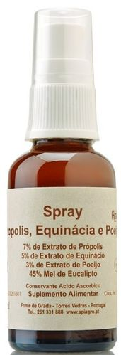 Spray Propolis, Equinácia e Poejo - 30 ml