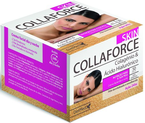 Collaforce Skin Creme Facial Dia e Noite - 50 ml