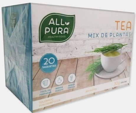 Tea Mix de Plantas All Pura - 20 saquetas