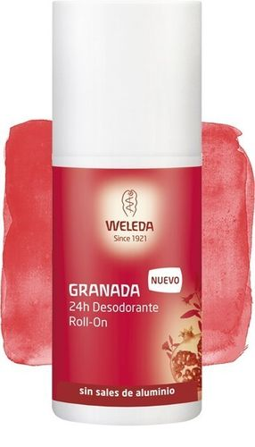Desodorizante Roll-On Romã Weleda - 50 ml