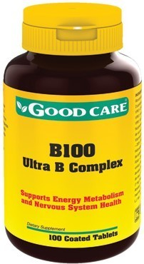 B100 Ultra B Complex Good Care - 100 comprimidos