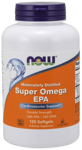 Super Omega EPA Now - 120 softgels