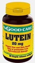 Lutein Good Care - 30 cápsulas