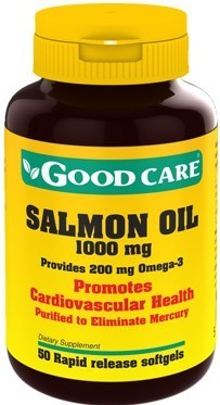 Salmon Oil Good Care - 50 cápsulas