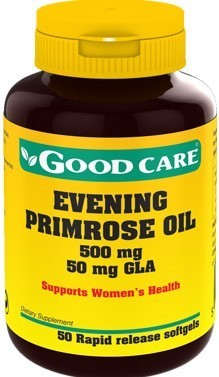 Evening Primrose Oil Good Care 500 mg - 50 cápsulas