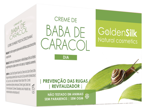 Creme Baba Caracol GoldenSilk - 50 ml